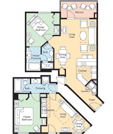 Floorplan 1 - ResortStay USA