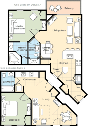 Floorplan 4 - ResortStay USA