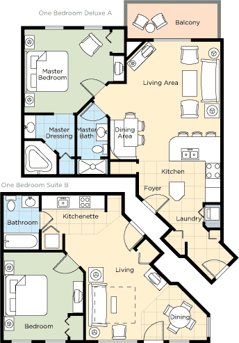 Floorplan 5 - ResortStay USA
