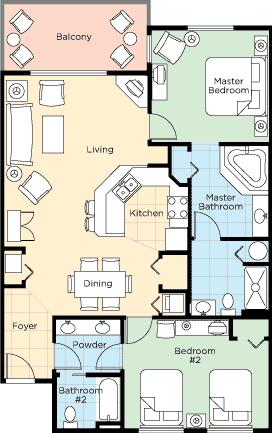 Floorplan 6 - ResortStay USA