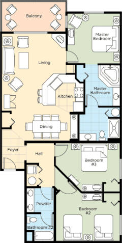 Floorplan 8 - ResortStay USA